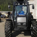 Forstaufbau bei Traktoren - Fotos